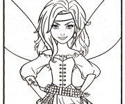 Coloriage Pirate Fairy