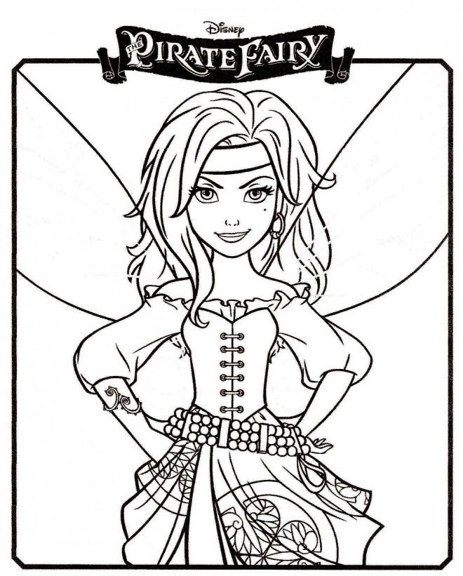 Coloriage et dessins gratuits Pirate Fairy à imprimer