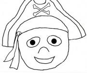 Coloriage et dessins gratuit Pirate Garçon à imprimer