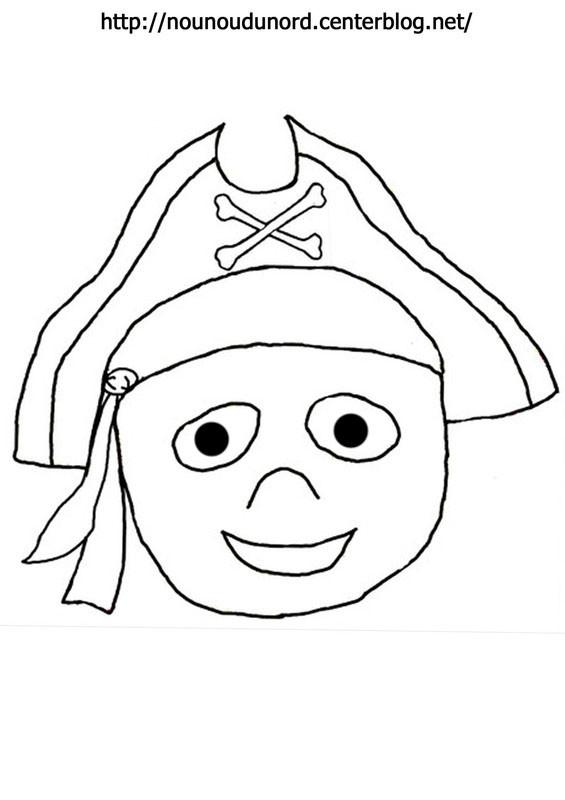 Coloriage et dessins gratuits Pirate Garçon à imprimer