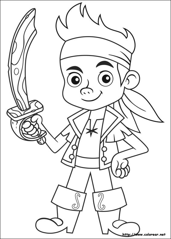 Coloriage pirate simple dessin gratuit imprimer - Dessins de pirates ...