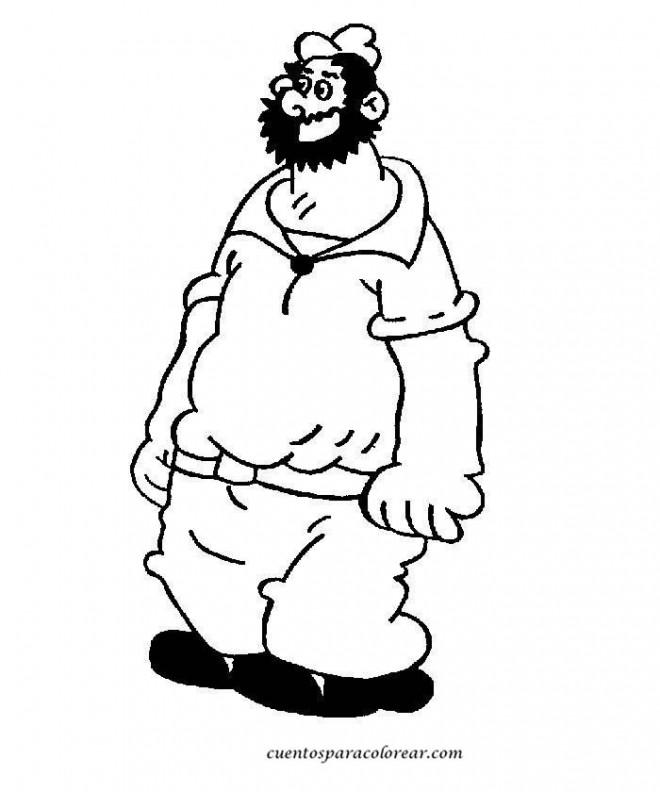 Coloriage et dessins gratuits Brutus géant à imprimer