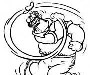 Coloriage et dessins gratuit Popeye 7 à imprimer