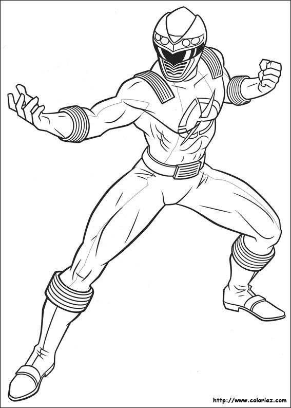 Coloriage et dessins gratuits Power Rangers en Ligne à imprimer