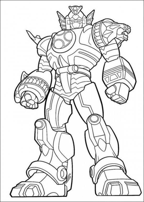 Coloriage power rangers jungle fury dessin gratuit imprimer - Dessin power rangers ...