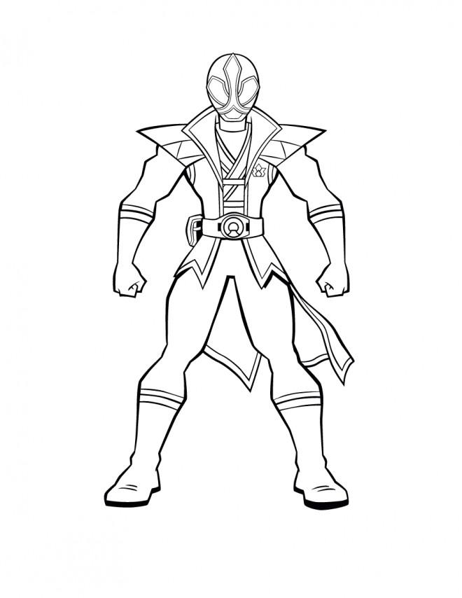 Coloriage et dessins gratuits Power Rangers Légendaire à imprimer