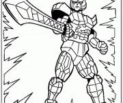 Coloriage et dessins gratuit Power Rangers maternelle à imprimer