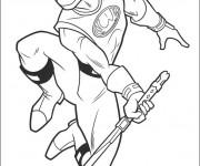 Coloriage et dessins gratuit Power Rangers Ninja Steel à découper à imprimer