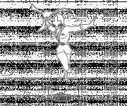 Coloriage et dessins gratuit Power Rangers Samurai facile à imprimer