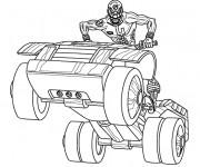 Coloriage et dessins gratuit Power Rangers Série à imprimer