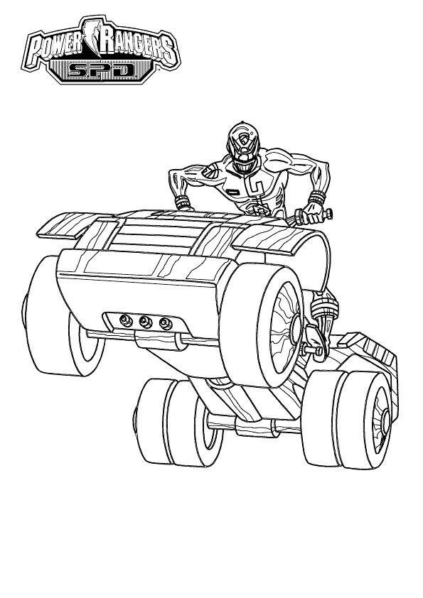 Coloriage et dessins gratuits Power Rangers Série à imprimer