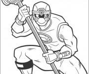 Coloriage et dessins gratuit Power Rangers super héros à imprimer