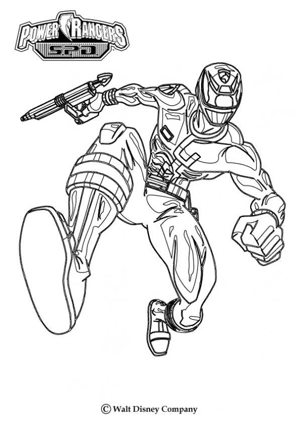 Coloriage power rangers super megaforce dessin gratuit imprimer - Dessin power rangers ...