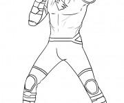 Coloriage et dessins gratuit Power Rangers Tigre à imprimer