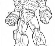 Coloriage dessin  PowerRangers 10