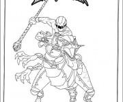 Coloriage dessin  PowerRangers 12