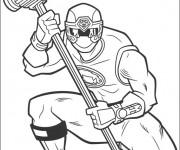 Coloriage dessin  PowerRangers 16