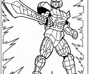 Coloriage dessin  PowerRangers 17