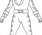 Coloriage dessin  PowerRangers 4