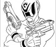 Coloriage dessin  PowerRangers 7