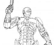 Coloriage Robocop 1