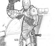 Coloriage Robocop 17