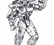 Coloriage Robocop 3