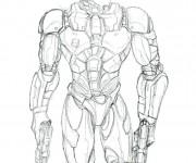 Coloriage Robocop 9