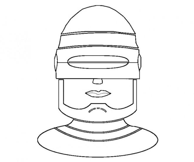 Coloriage et dessins gratuits Robocop en Ligne à imprimer