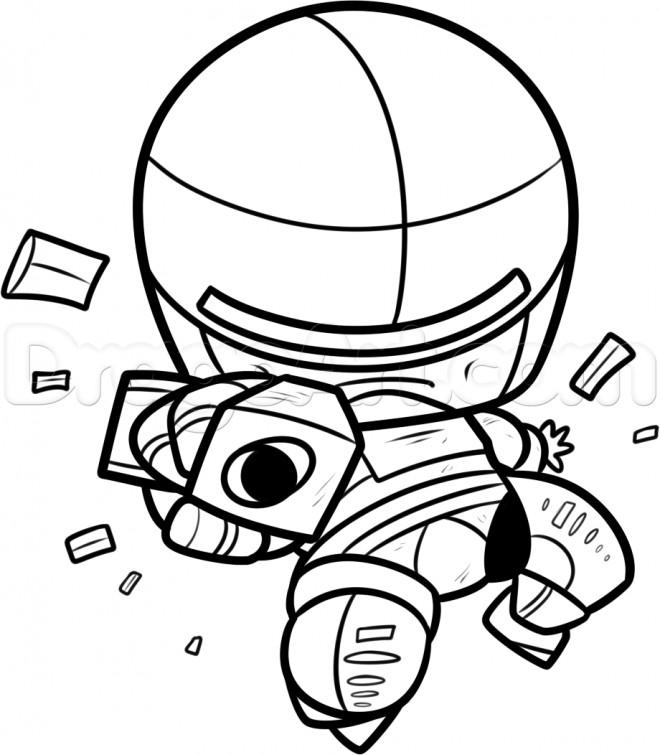 Coloriage et dessins gratuits Robocop facile à imprimer