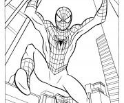 Coloriage dessin  Spiderman 1