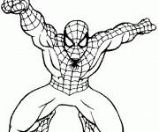 Coloriage Spiderman 13