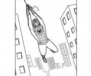 Coloriage dessin  Spiderman 17
