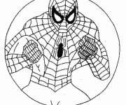 Coloriage Spiderman à colorier