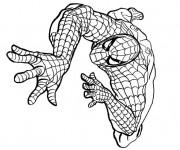 Coloriage Spiderman maternelle