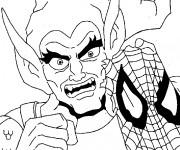 Coloriage spiderman gratuit imprimer liste 20 40 - Coloriage spiderman mechant ...