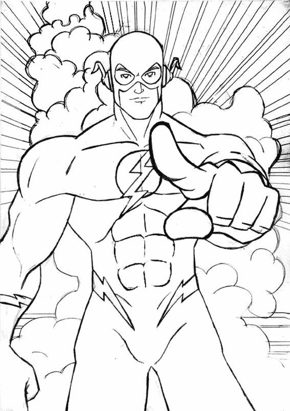 Coloriage et dessins gratuits Super Héro pour enfant à imprimer