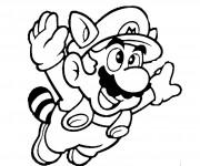 Coloriage dessin  Mario Bros 1