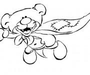 Coloriage et dessins gratuit Peluche Super Héro à imprimer