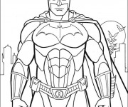 Coloriage Super Héro  Batman
