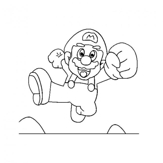 Coloriage Super Mario Couleur Dessin Gratuit à Imprimer
