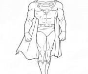 Coloriage Superman 14