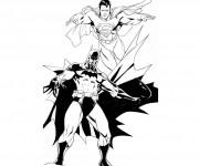 Coloriage Superman 15