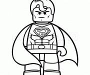 Coloriage Superman 16