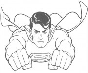 Coloriage Superman 3