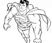 Coloriage Superman 7