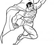 Coloriage Superman Super Héro
