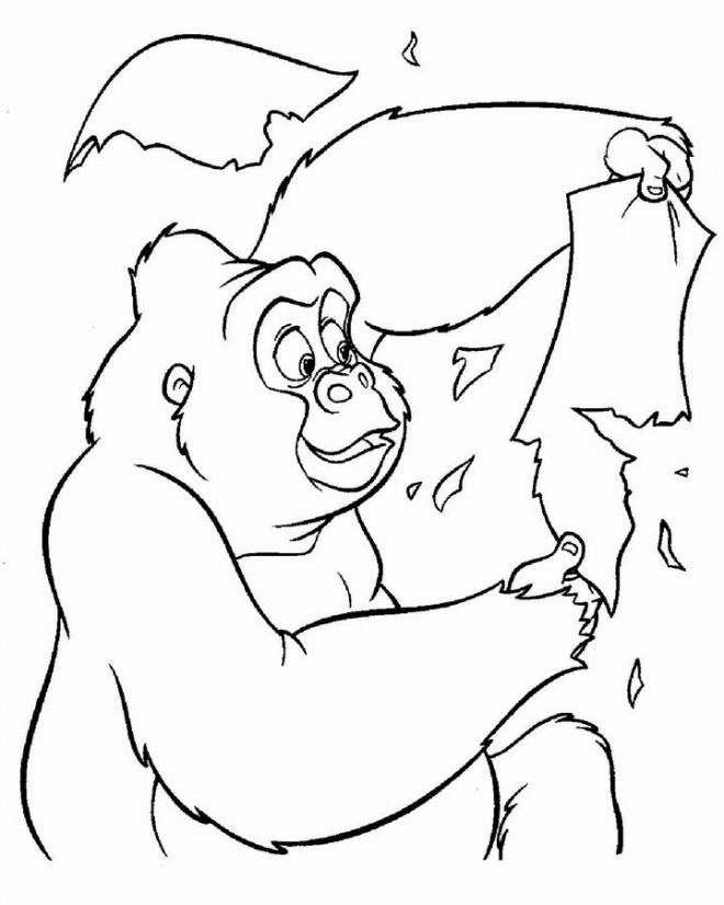 Coloriage et dessins gratuits Kerchan drôle à imprimer