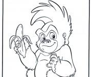 Coloriage dessin  Tarzan 8