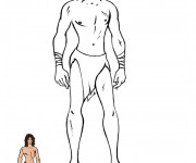 Coloriage Tarzan à colorier